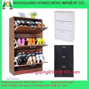 Three Big Doors Shoe Cabinet pictures & photos