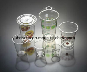 Clear Plastic Cup, Cold Drinking Plastic Cup, Smoothie Plastic Cup (YHP-025) pictures & photos