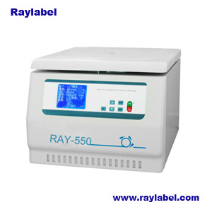 Centrifuge, Tabletop Low Speed Large Capacity Centrifuge, Low Speed Centrifuge for Lab Equipments (RAY-550) pictures & photos