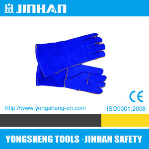 Safety Gloves Factory Cow Leather Gloves (S-1001B)