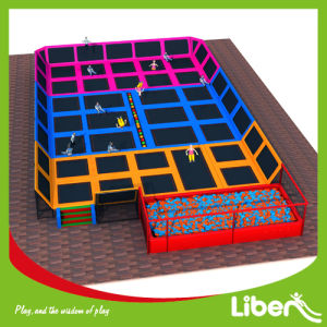 Professional Manufacturer Large Indoor Kids Trampoline for Park pictures & photos