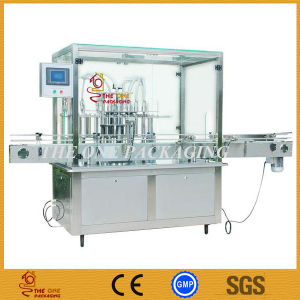 China Automatic in-Line Bottle Liquid Filling Machine pictures & photos