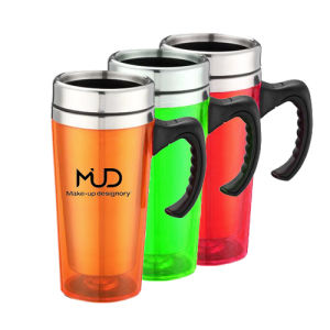 Stainless Steel Travel Mug Gift Mug with Handle pictures & photos