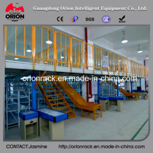 Multi-Layer Storage Rack with Steel Structure Mezzanine Floor pictures & photos