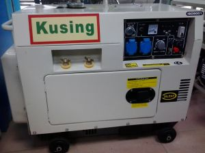 5kVA Protable Diesel Silent Welding Generator (KW6700) pictures & photos