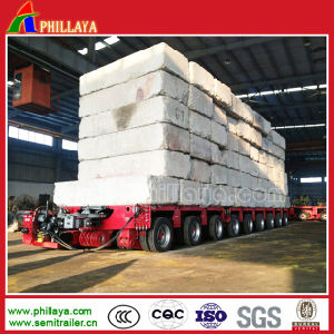 Phillaya Muti-Axles Low Bed Modular Semi Trailer with Length Opptional pictures & photos