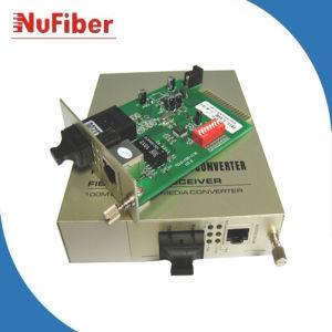 10/100m Card Media Converter, Internal Power Supply (NF-C107S40)