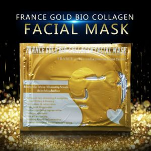Golden Facial Mask Wrinkle Remover Best for Wrinkle Dry Skin Cosmetics pictures & photos