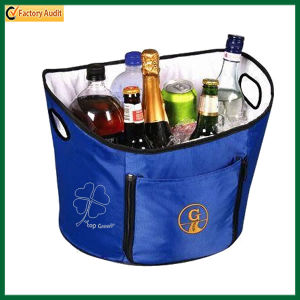 Insulated Ice Bag for Food and Drinks Round Cooler Bag (TP-CB113) pictures & photos