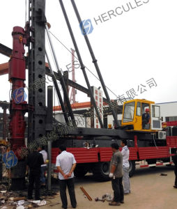 Truck-Mounted Diesel Hammer Pile Driver pictures & photos