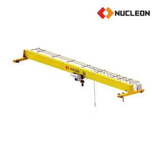 Construction Engineering Used Single Girder Overhead Crane in Saudi Arabia pictures & photos