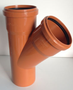 PVC-U Pipe &Fittings for Water Drainage Skew Tee with Socket (C89) pictures & photos