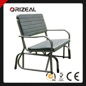 Orizeal Black Leisure Public Garden Bench Oz-C2017 pictures & photos