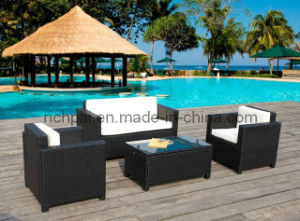 Outdoor Rattan & Wicker Furniture - Sofa Set (RRS004)