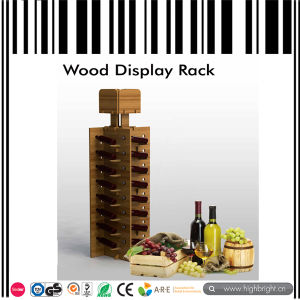MDF Wooden Wine Display Stand Rack pictures & photos