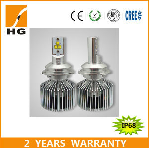 Hot! 9007 High Low Beam LED 35W Philips Chip LED Headlight Bulb for Car pictures & photos