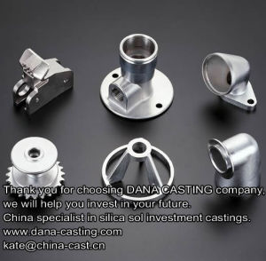 Steel Investment Casting Parts by Silicon Casting pictures & photos