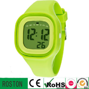 Fashion Silicon Sport Digital Watch pictures & photos