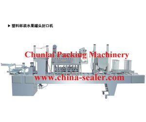 Cup Canned Fruit Filling Sealing Machine (SGF-4C) pictures & photos