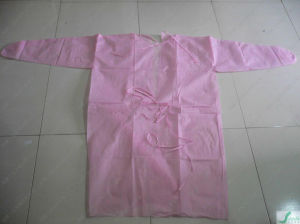 Disposable PP Nonwoven Surgical Gown pictures & photos
