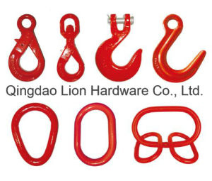 Sand Blasting and Painting Grey Ductile Iron Hooks Cast Iron Hooks pictures & photos