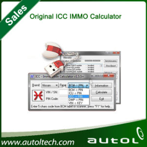 High Quality Original Icc IMMO Calculator Immobilizer Pin Code Reader IMMO Code Calculator pictures & photos