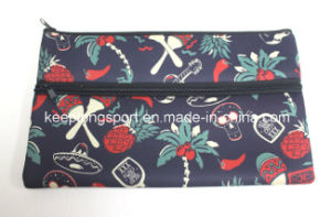 Promotional Customized Neoprene Pencil Case with Full Colors Printing pictures & photos