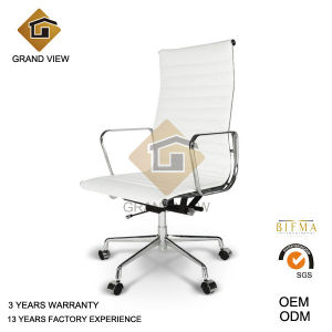 White Leather Ergonomic Design Chair (GV-EA119) pictures & photos