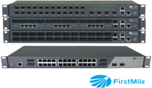 Gigabit Managed Optic Ethernet Access Switch Network Communication Device pictures & photos