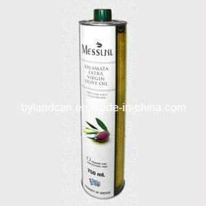 Metal Tin Can for 750ml Olive Oil pictures & photos