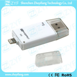 Lightning Connector USB Flash Drive for iPhone (ZYF1611) pictures & photos