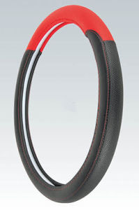 PVC with PU Steering Wheel Cover (BT7313) pictures & photos
