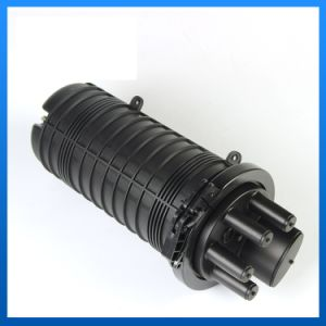Dome Vertical Type Optical Fiber Splice Closure pictures & photos