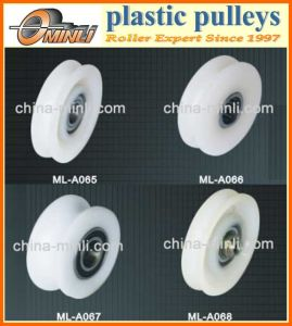 Plastic Nylon Roller Pulley for Door or Window pictures & photos