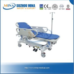 Luxurious Aluminum Electric Rise-and-Fall Stretcher (MINA-RS111-D)