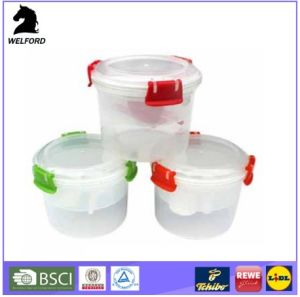 New Creative Promotion Plastic Convenient Breakfast Container with Clip, Fork and Spoon pictures & photos