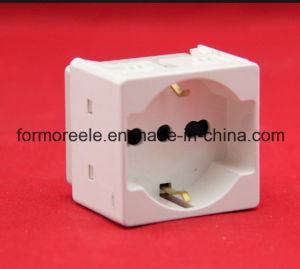Italian Multi-Function Socket /Socket for Egypt pictures & photos