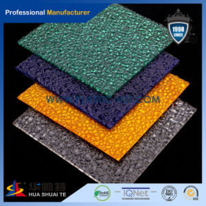 Red/Blue/Green/Opal Color PC Lexan Embossed Sheet/ Solid Sheet pictures & photos