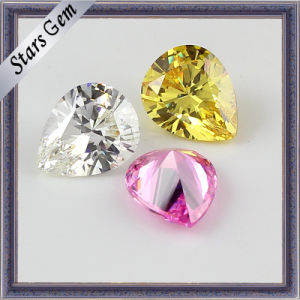 Beautiful Colorful Cubic Zirconia Gemstones Loose Beads pictures & photos