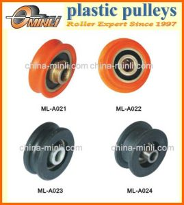 Plastic Coated Window or Door Pulley Roller pictures & photos