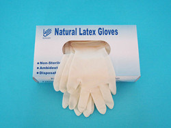 Medical Latex Examination Gloves pictures & photos