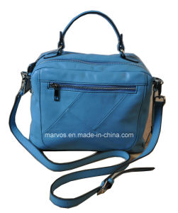 Fashionable Women PU Leather Hobo Bag with Hight Quality (M10470) pictures & photos