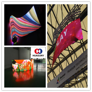 Flexible LED Galaxias P6 LED Display Rental Screens pictures & photos