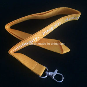 Thin Plant PP Webbing Polyester Lanyard Manufacturer pictures & photos