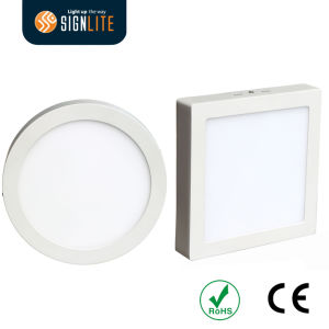 Surface Mounting Installation Square or Round 6W/12W/18W/24W LED Downlight/LED Panel Light pictures & photos