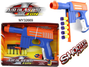 EVA Bullet Toy Gun, EVA Soft Bullet Gun, Shoot Game, Outdoor Toys (MY32669)