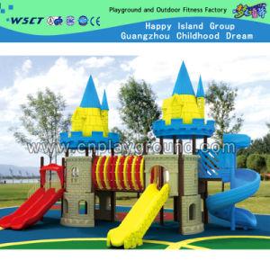 School Outdoor Castle Playground for Kindergarten (HD-2101) pictures & photos