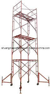 Mobile Platform Portable Frame Scaffolding for Construction pictures & photos