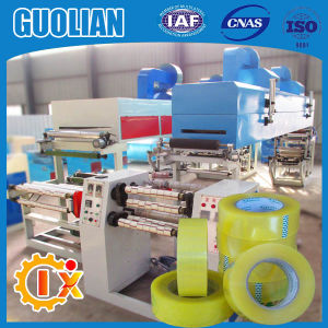 Gl-500d Multifunctional Small BOPP Scotch Tape Making Machine pictures & photos