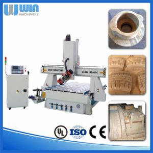Curved Surface Engraving 4 Axis Atc CNC Router Machine Price pictures & photos
